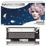Hainberger - Cartucho de tóner con chip (sustituye a HP W2070A, 117A, para impresora Color Laser 150, 150A, 150NW, MFP, 178, 178NW, 178NWG, 179, 179FNG, 179FNW, 179FWG)