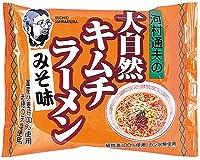 健康フーズの大自然キムチラーメン みそ味×10個         JAN: 4973044020425