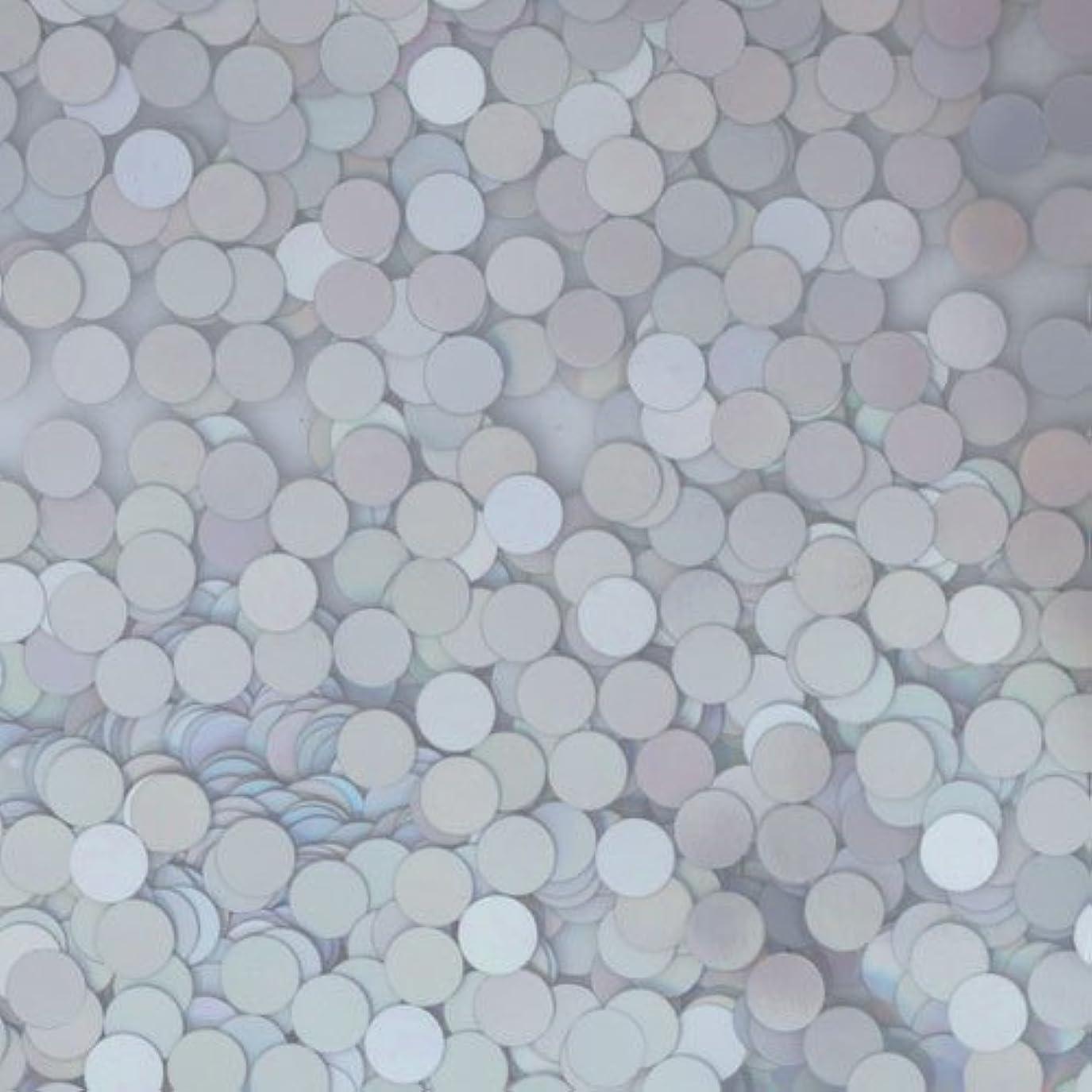 がっかりしたアイドル散らすピカエース ネイル用パウダー ピカエース 丸ホロ 1.5mm #883 マットシルバー 0.5g アート材