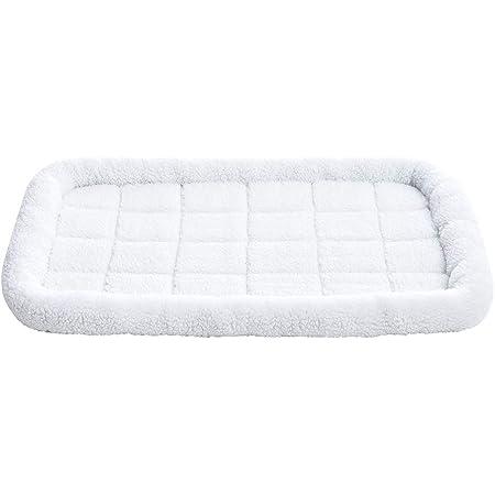 AmazonBasics Padded Pet Bolster Bed - 89 x 56 cm