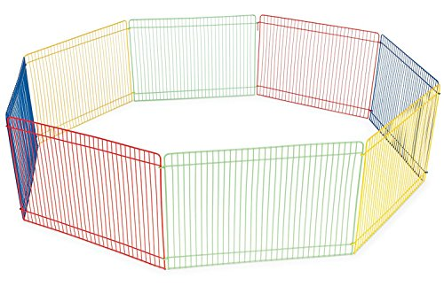 Small Pet Playpen Dog Cat Exercise Indoor Outdoor Portable Fence Cage Kennel New
