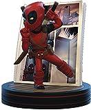 Quantum Mechanix- Figura Qfig Deadpool, Marvel, Color Red, Black (MVL-0025)
