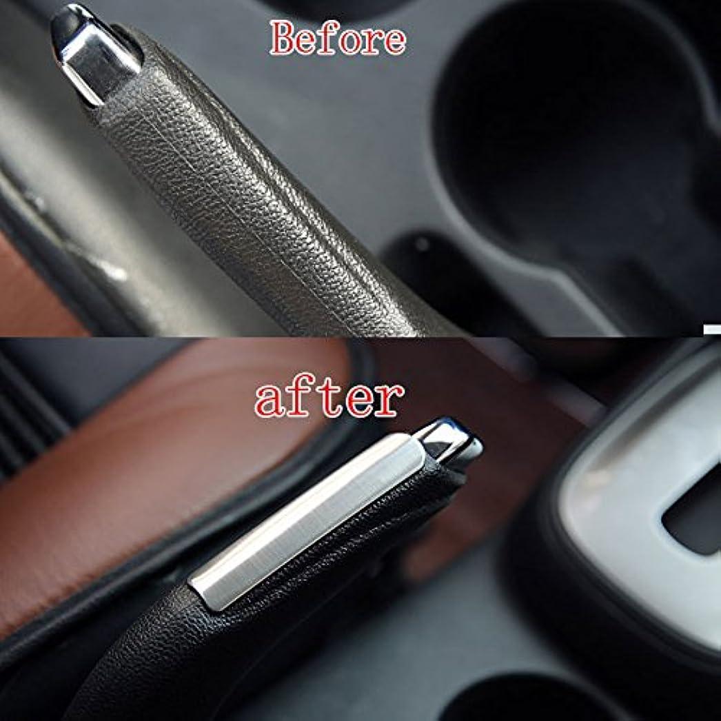 政治家パケット蒸気Jicorzo - 1PC Chrome Stainless Steel Handbrake Frame Interior Trim Cover Sticker Fit For Chevrolet Trax 2013 2014 2015