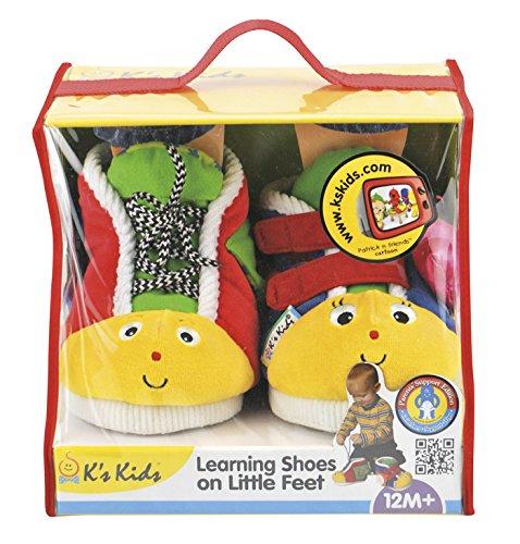 K'S Kids Learning Shoes On Little Feet