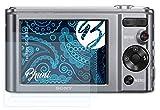 Bruni Schutzfolie kompatibel mit Sony DSC-W810 Folie, glasklare Bildschirmschutzfolie (2X)