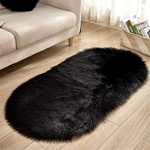 MMHJS European-Style Simple Oval Carpet Soft Non-Slip Sofa Blanket Living Room Bedroom Home Mat Suitable For Hotel Party Balcony