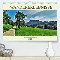 Wandererlebnisse in der Saechsischen Schweiz (Premium, hochwertiger DIN A2 Wandkalender 2022, Kunstdruck in Hochglanz): Die schoensten Wanderziele (Monatskalender, 14 Seiten )