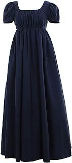 Vintage Ball Dress High Waistline Tea Gown Dress