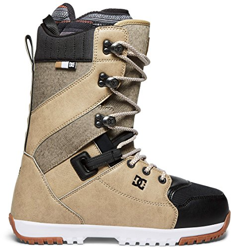 DC Men's Mutiny Lace Snowboard Boots, 12, Brown