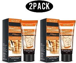 Abdominal Cream (2 Pack), Hot cream, Anti Cellulite Cream, Fat Burning Cream - Natural Body Slimming Cream for Abdominal, Arms and Thighs.
