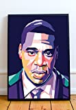 Jay Z Limited Poster Artwork - Professional Wall Art Merchandise (More (8x10)