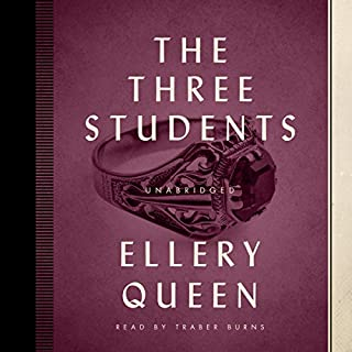 The Three Students audiobook cover art