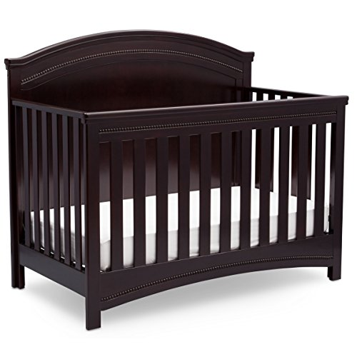 Best Review Of Simmons Kids SlumberTime Emma Convertible Baby Crib N More, Black Espresso