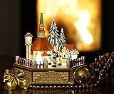 Wichtelstube-Kollektion LED Weihnachtsdeko Holz beleuchtet Weihnachtsdorf inkl Trafo