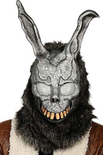 Coslive Donnie Darko Bunny Maske Halloween Häschen Cosplay Helm Maske Harzmaske Voll Gesicht Anime Cosplay Kostüm Zubehör für Erwachsene Jugend Requisit Stütze