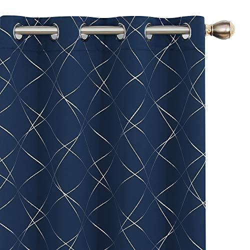 Amazon Brand - Umi Cortinas Opacas de Salon Dormitorio Aislantes Termicas con...