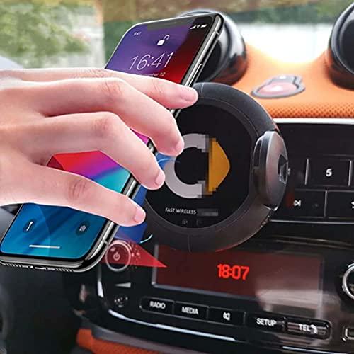 1 Uds cargador inalámbrico de navegación soporte de teléfono móvil para Smart 451 453 fortwo forfour accesorios estilo de coche
