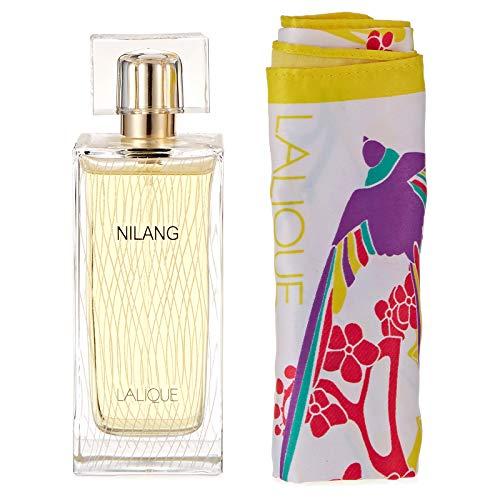 LALIQUE Nilang femme/woman Geschenkset (Eau de Parfum,100ml+Schal,1Stück), 100 ml