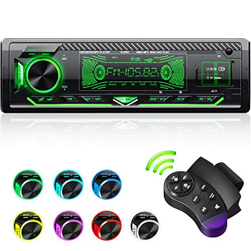 CENXINY Car radio Bluetooth hands-free, 1 Din universal Car Radio built-in...