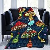 Alvaradod Manta de Tiro Personalizada,Conjunto de Setas de Colores estilizados,Manta de Felpa Suave para sofá,Dormitorio,Viaje,Manta mullida 50'X60'
