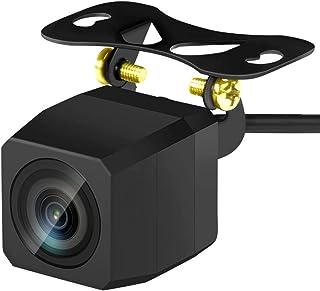 バックカメラ 車載用バックカメラ CCDセンサー超高画質 夜でも見える リアカメラ 魚眼レンズ 広角170° 角型 車載カメラ 防塵防水IP67 各種カーナビとの取り付け可能 24ヶ月保証有り
