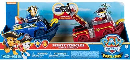 Pata de Patrulla Pirata Cachorros Pirata Buques Chase & Marshall