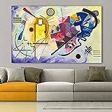 ganlanshu Cuadro En Lienzo Arte Abstracto para póster de Sala de Estar y decoración de pared70x95Pintura sin Marco
