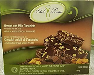 Ideal Protein Almond and Milk Chocolate-7bars-294grams