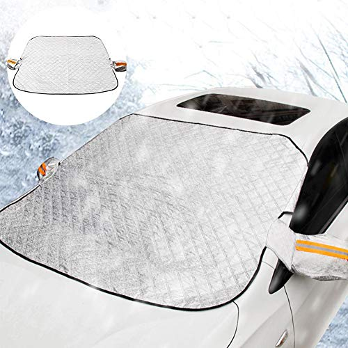 Katurn Auto Schnee Windschutzscheibe Startseite Schnee, EIS, Schneeregen, Frost, Hagelschutz Autoabdeckung Schnee & Eisabdeckung Für PKW, LKW Und Kleine SUV