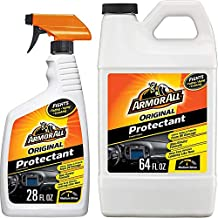 Armor All Original Protectant Spray and Refill, Car Interior Cleaner with UV Protection to Fight Cracking & Fading, Medium Shine, 28 & 64 Fl Oz, 18702