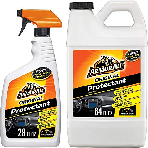 Armor All Original Protectant Spray and Refill, Car Interior Cleaner with UV Protection to Fight...