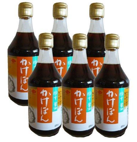 チョーコーゆず醤油かけぽん400ml×6本 チョーコー醤油(長崎県)