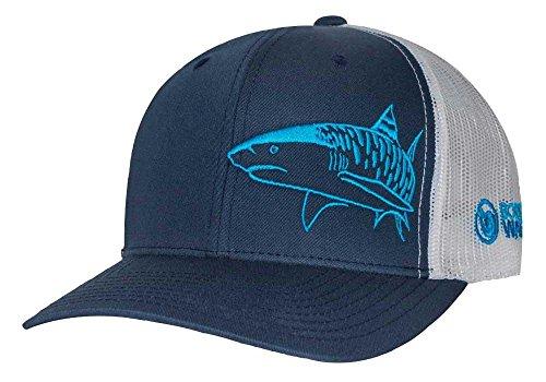 Men's Tiger Shark Scuba Diving Snapback Trucker Hat