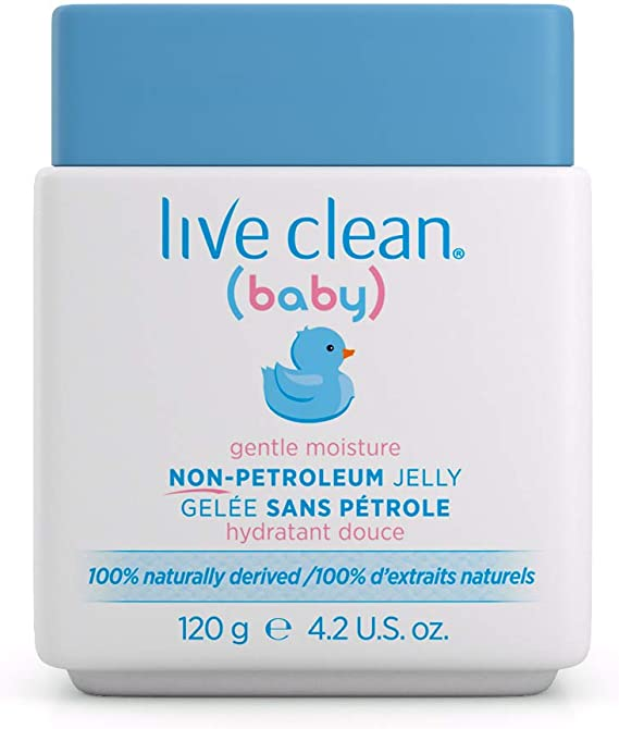 Live Clean Baby Diaber Rash- Non Petroleum Jelly