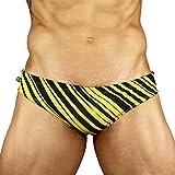 CA-RIO-CA Zebra Sunga - Men's Designer Swimwear - Pink Or Yellow
