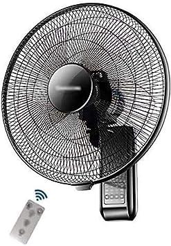 Ventilador de pared - Hogar Sacudida Cabeza Ventilador Restaurante Control remoto Industrial Ventilador de pared Ventilador de aire grande Volumen de aire Avión de aire de 18 pulgadas Ventilador eléct