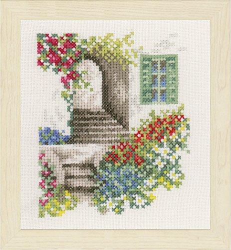 Unbekannt Lanarte–Paquete Romántico callejuela Contador plástico Cruz, algodón,...