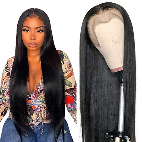 13x4 Lace Front Wigs Human Hair Pre Plucked Wigs for Black Women Human Hair...