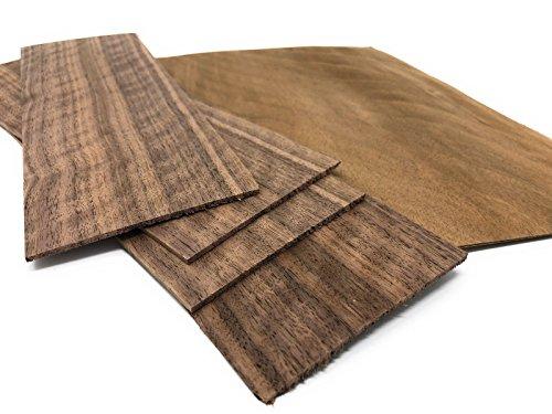 Furnier geeignet f/ür: Modellbau Ausbesserungsarbeiten zum Basteln Intarsien 15-17 Furniere in der Holzart Limba Restauration