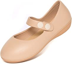 walk&rest Kids Mary Janes Shoes Extreme Comfort Waterproof Ergonimic Fit for Little Girls