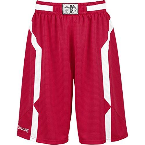 Spalding Offense Shorts Basketballshorts rot rot/weiß, XXXXL