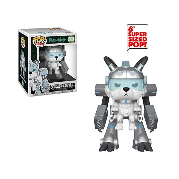 Funko Pop Snowball con Exoesqueleto (Rick & Morty 569) Funko Pop Rick & Morty