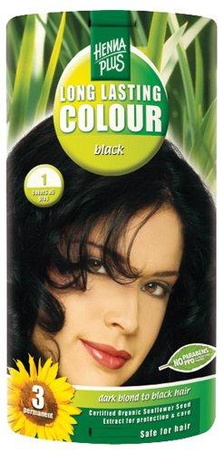 Hennaplus 49153 Long Lasting Colour 1 Black