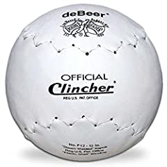 **IMPORTANT: These are Regular Clincher THESE BALLS HAVE THE SOFT CORE - (REBOUND SLOW): For a rebound more fast, then you will need Clincher Gold Balls COVER: Hand-sewn, full-grain TruTech pearl leather for enhanced durability CORE: Steam-welded Kap...