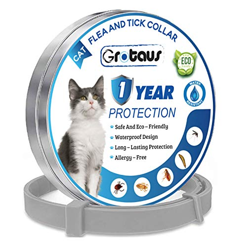 HARKY Flea & Tick Prevention Collar for Cats - Suitable of Cats - Cats Flea...