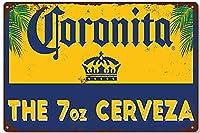 【eiwasailsors】コロナ・エキストラ  Corona Extra コロナビール  メタルサイン  金属 TIN SIGN お部屋 お店 壁飾り 個性 インテリア アメリカ雑貨 アメリカンブリキ看板 レトロ調  20x30cm eiwasailsors