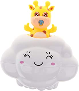 MagiDeal Creative Nimbus Rain Clouds Bathing Time Shower Bath Toy For Baby Toddler Bathroom Bathtub Play Fun –Deer