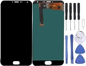 شاشة الهاتف المحمول LCD iPartsBuyLCD Screen + Touch Screen, LCD Screen and Digitizer Full Assemblyfor Meizu MX5 (Black) شاشة عرض من الكريستال السائل (Color : Black)