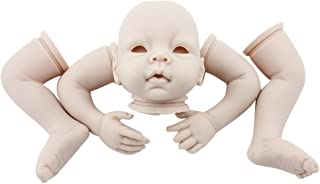 Minidiva Unpainted Reborn Baby Doll, 100% Handmade Soft Silicone 22