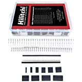 Hilitchi 635 Pcs 40 Pin 2.54mm Pitch Single Row Pin Headers,...